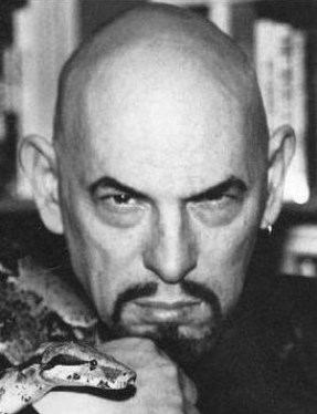 Anton LaVey, founder of the Church of Satan us...