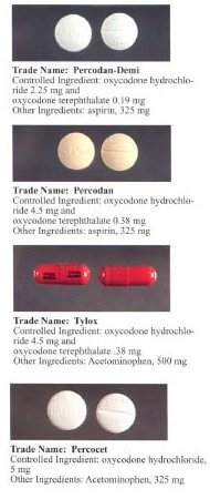 Formulations containing oxycodone and other an...