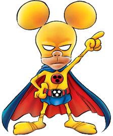 Rat-Man in posa eroica