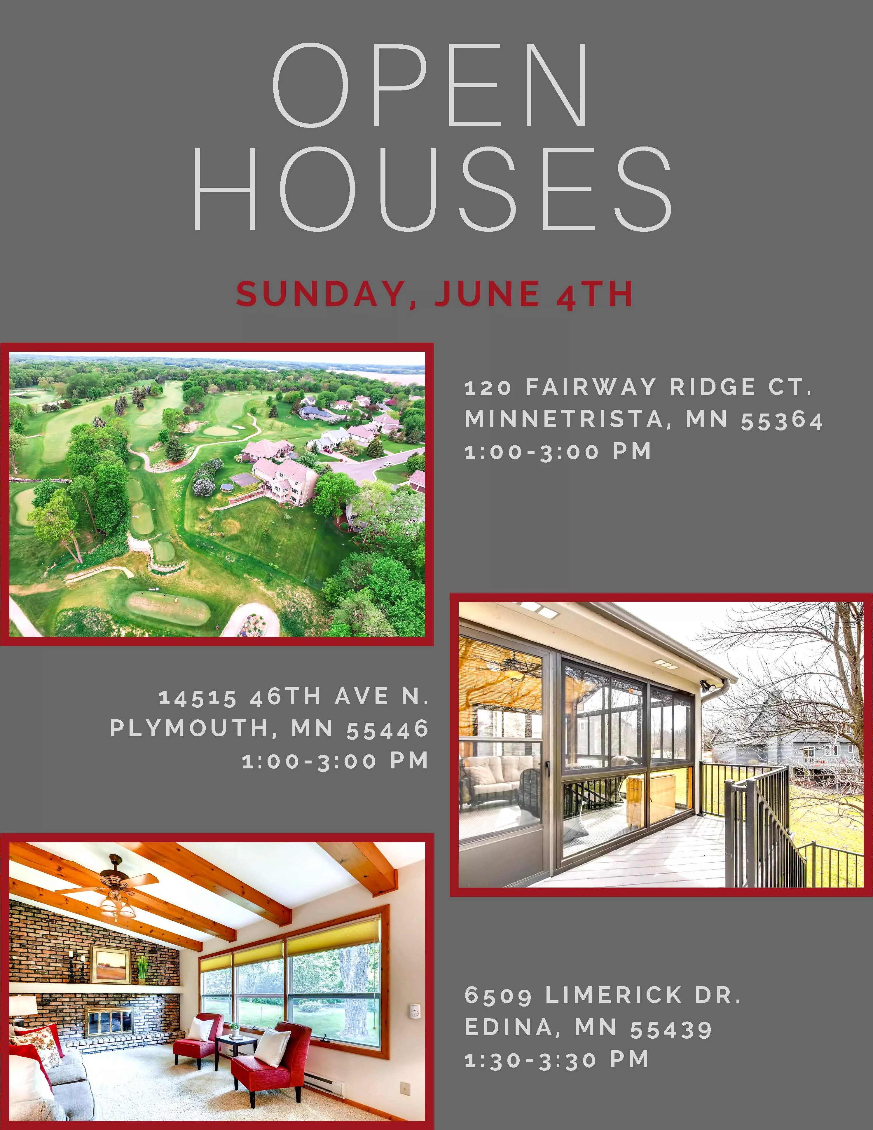 Fullsize Of Open Houses This Weekend