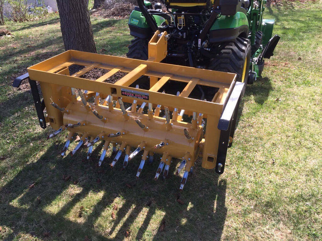 Groovy Everything Attachments Tube Style Aerators I Went Pull Behind Aerator Canada Pull Behind Aerator Rental houzz-03 Pull Behind Aerator