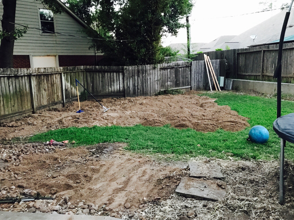 Mutable Compactor N Level Compact Ground Start To Build Newbie Trying To Use Soil To Build Up To Level Use That Bricks Andpavers Come Today So When Happy houzz-02 How To Level A Yard