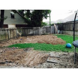 Small Crop Of How To Level A Yard