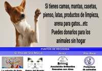 VII CAMPAÑA SOLIDARIA DE RECOGIDA DE MANTAS Y ENSERES PARA LAS PROTECTORAS