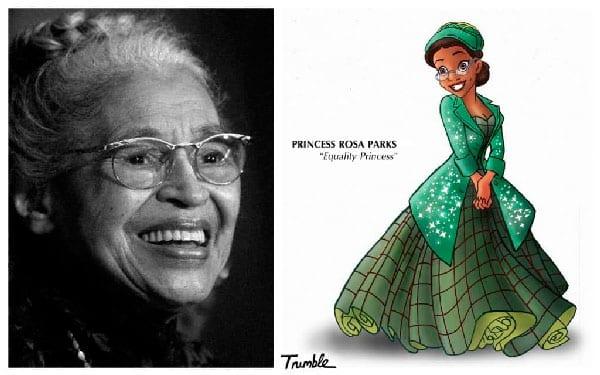 Princesa Rosa Parks