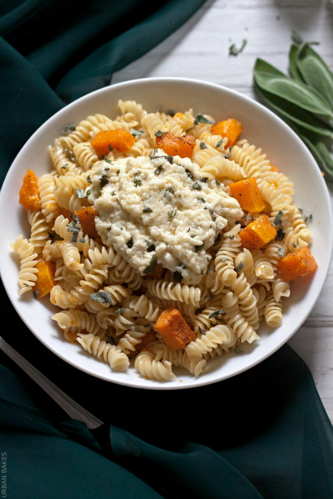 URBAN BAKES - Butternut Squash Pasta with Parmesan Browned Butter and ...