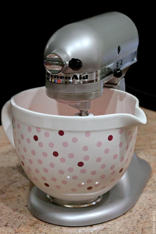 KitchenAid Polkadot Ceramic Bowl GIVEAWAY! | URBAN BAKES