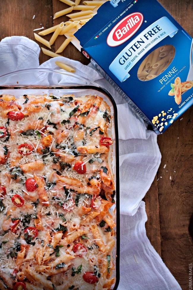 Gluten Free Baked Chicken Parmesan   URBAN BAKES