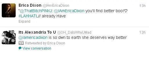 Erica Dixon boyfriend