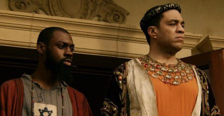 Exclusive photo of Harry Lennix & Mali Music in REVIVAL.