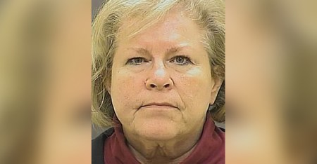Bishop Suffragan Heather Elizabeth Cook, 58, surrendered to police Friday afternoon. Her bail was set at $2.5 million. (Baltimore City Police Department)