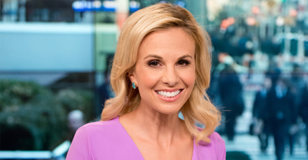 Host Elisabeth Hasselbeck returns to FOX and Friends at FOX Studios on November 14, 2014 in New York City. (Noam Galai/Getty Images North America)