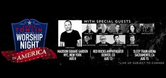 """Chris Tomlin Announces """"Worship Night In America"""" Events (Video)"""