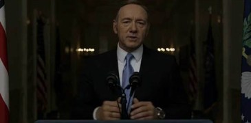 WATCH: President Frank Underwood's Speech on Entitlements and the Welfare State