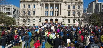 Thousands Protest Religious Freedom Law In Indianapolis