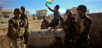 Kurdish and Christian Fighters Make Gains Against ISIS In Northeastern Syria