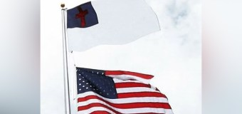 Christian Flag Above American Flag? North Carolina Pastor Says 'Yes' (Video)
