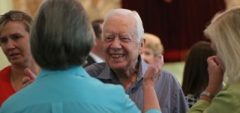 After Cancer Revelation, Jimmy Carter Goes to Church