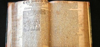 Today's Tyndale Moment – a Time to Increase Scriptural Literacy