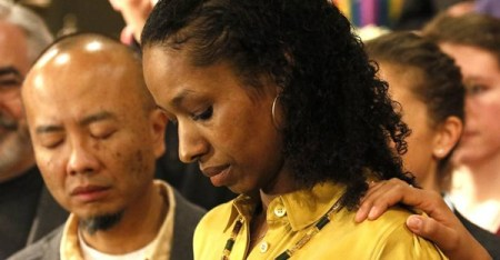 More than 800 Wheaton College alumni signed a letter emailed to administrators Friday asking that the college halt termination proceedings against professor Larycia Hawkins. (Daniel White   Staff Photographer)
