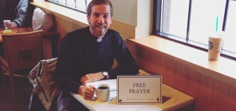 """Lutheran Pastor Shares Why He Offers """"Free Prayer"""" In a Coffee Shop"""