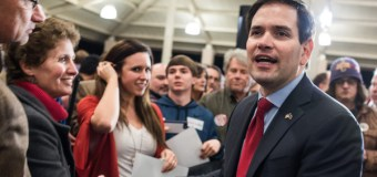 Marco Rubio Rally Turns Into Prayer Rally After Man Collapses (Video)