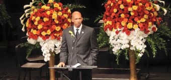 Oklahoma City Thunder's Monty Williams Offers Message of Forgiveness at Funeral of Wife (Video)