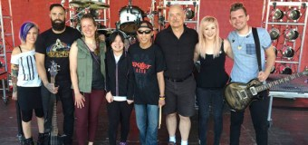 Make-A-Wish Rocks With Skillet