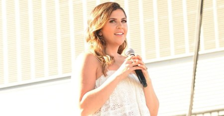 Hillary Scott joins her mother, father and sister on 'Love Remains.' (Beth Gwinn/Getty Images)
