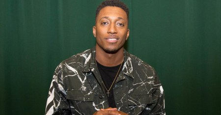 "Lecrae Moore is a rapper from Atlanta whose album ""Anomaly"" debuted as No. 1 on the Billboard 200 chart. (ADELA LOCONTE VIA GETTY IMAGES)"
