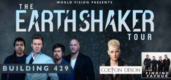 Building 429 and Colton Dixon Launch EARTH SHAKER Tour This Fall