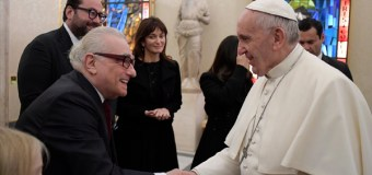 "Martin Scorsese Meets ""Disarming"" Pope Francis at Vatican, Discusses Latest Movie, ""Silence"" (Video)"
