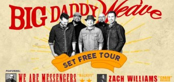 "Big Daddy Weave Kicks Off 2017 With ""Set Free Tour"""