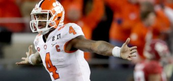 QB Deshaun Watson on Clemson's Win Over Alabama: 'It's What God Wanted. He Picked Us for a Reason' (Video)