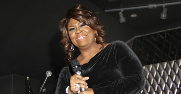 Kim Burrell at a 2013 tribute to Whitney Houston in Los Angeles. (Invision/AP)