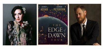 """Audrey Assad, Andrew Peterson Team for """"The Edge of Dawn Tour"""""""