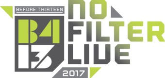 "The B413 ""No Filter Live"" Tour 2017 Kicks Off Next Month (Video)"