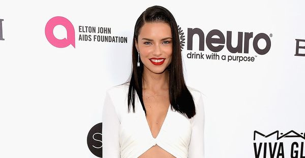 Model Adriana Lima attends the 25th Annual Elton John AIDS Foundation's Academy Awards Viewing Party with cocktails by Clase Azul Tequila and Chopin Vodka at The City of West Hollywood Park on February 26, 2017 in West Hollywood, California. (Charley Gallay/Getty Images North America)
