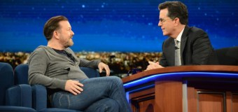 Stephen Colbert, Ricky Gervais Debate God's Existence on 'The Late Show' (Video)