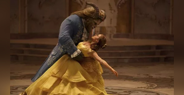 Emma Watson and Dan Stevens in 'Beauty and the Beast.' (Photo: Disney)