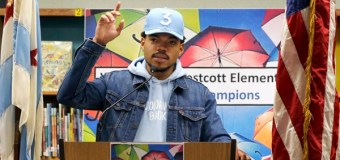 Chance the Rapper Gives $1 Million to Chicago Public Schools