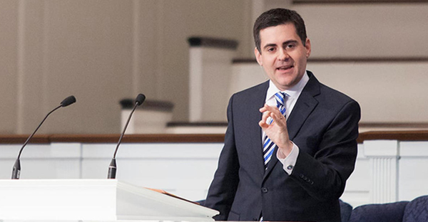 Russell Moore speaks at The Southern Baptist Theological Seminary in Louisville, Ky. (Screenshot from Vimeo)