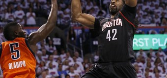 Nenê's 28 Lead Houston Rockets Past Thunder for 3-1 Series Lead