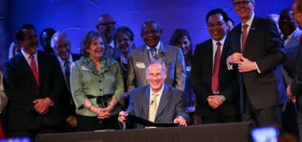 """Sermon Safeguard"" Bill Signed by Texas Governor at Church of One of the 'Houston Five' Pastors"