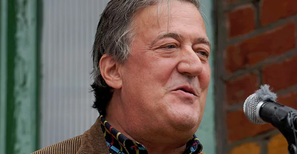 Stephen Fry's comments on television in 2015 brought a complaint under Ireland's 2009 blasphemy law. (Photograph: Lauren Hurley/PA)