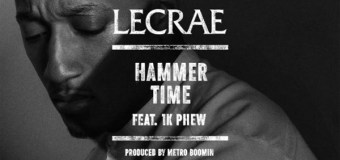 "Lecrae's New Single ""Hammer Time"" Features 1K Phew, Metro Boomin"
