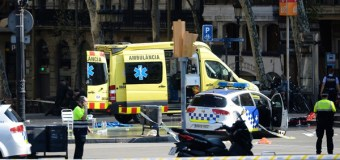 13 Dead, 100 Injured After Van Hits Crowd in Barcelona; ISIS Claims Responsibility