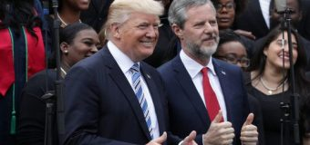A Few Former Liberty University Students Prepare To Return Their Diplomas In Group Protest of Jerry Falwell Jr.'s Support of President Trump's Agenda; Jerry Falwell Jr. Responds
