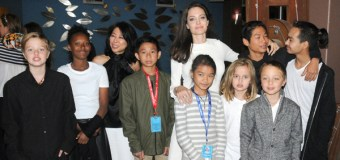 Angelina Jolie Brings All 6 of Her Children to Premiere of 'First They Killed My Father'