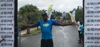 Usain Bolt Competes in 5km Charity Race